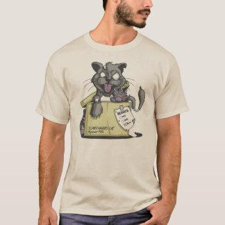 Unterhemd erlebe ich Katze von Schrodingers