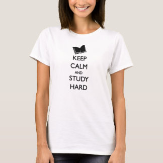 "Unterhemd ""Keep Calm and Study Hard """