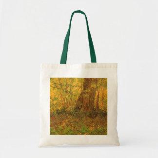 Unterholz durch Vincent van Gogh, Vintage feine Tragetasche