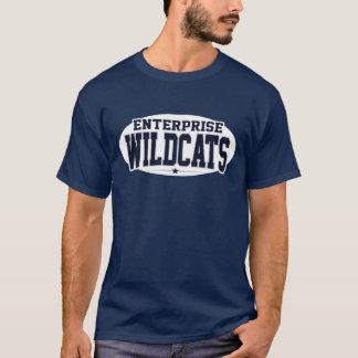 Unternehmens-Highschool; Wildkatzen T-Shirt
