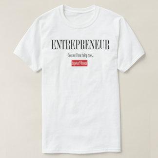Unternehmer-T-Stück T-Shirt