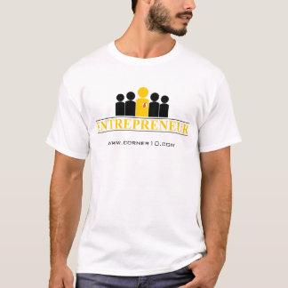 Unternehmer, www.corner10.com T-Shirt
