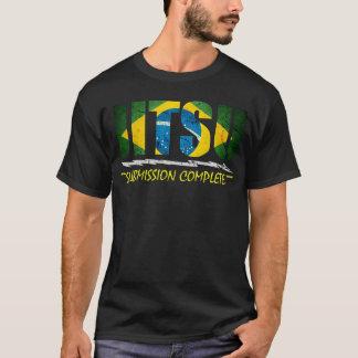 Unterordnung komplett - Brasilianer Jiu Jitsu T - T-Shirt