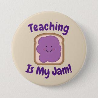 Unterricht ist mein Stau-Knopf Runder Button 7,6 Cm