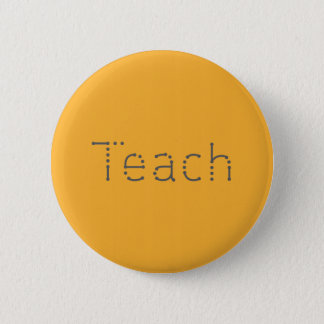 Unterrichten Sie Knopf Runder Button 5,7 Cm