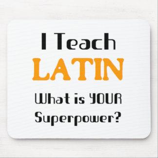 Unterrichten Sie Latein Mauspad