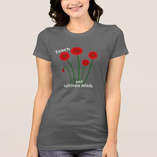 Unterrichten Sie und kultivieren Sie Sinnest-shirt