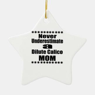Unterschätzen Sie nie verdünnte Kaliko-Mamma Keramik Stern-Ornament