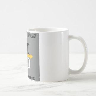 Unterschiedliche Wahl-quadratische Logo-Tasse Kaffeetasse