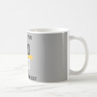 Unterschiedliche Wahl-Tasse Tasse