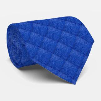Unterschriften-blaue Diamant-Muster-Krawatte Individuelle Krawatten