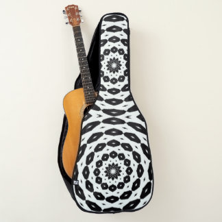 Unterschriften-dunkles Lotus-Indie Gitarrentasche