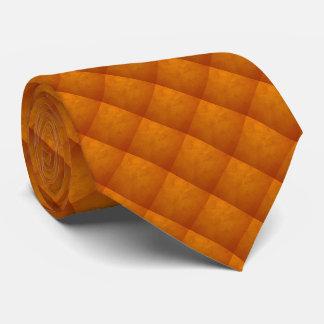 Unterschriften-Golddiamant-Muster-Krawatte Bedruckte Krawatte