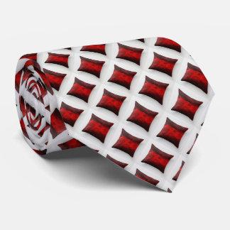 Unterschriften-Mikrodiamant-rote Muster-Krawatte Krawatten