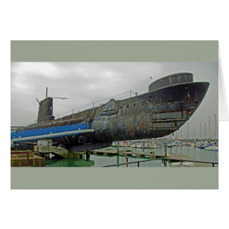 UNTERSEEBOOT HMS ALLIANCE KARTE