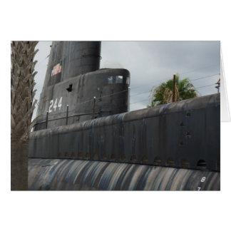 Unterseeboot Karte
