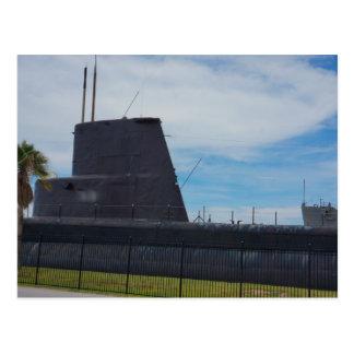Unterseeboot Postkarte