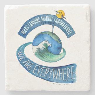Untersetzer (Marmorstein): Wir sind überall