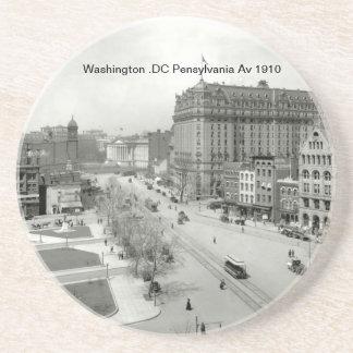 Untersetzer Washingtons .DC Pensylvania Handels