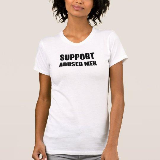 Unterstützung missbrauchte Männer T-Shirt