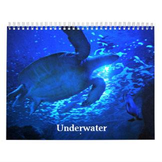 Unterwasser Kalender