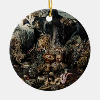 Unterwasser Rundes Keramik Ornament