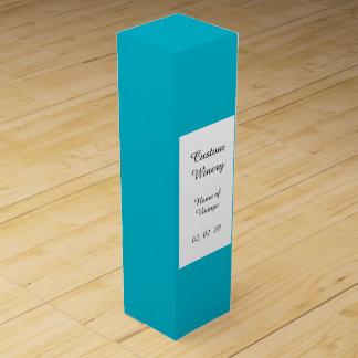 Unterwasseratemgerät-blauer leistungsfähiger Wein-Geschenkverpackung