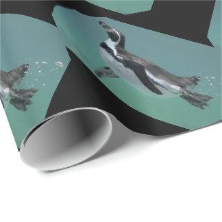 Unterwasserballett-Packpapier Geschenkpapier