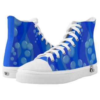 Unterwasserblasen Hoch-geschnittene Sneaker