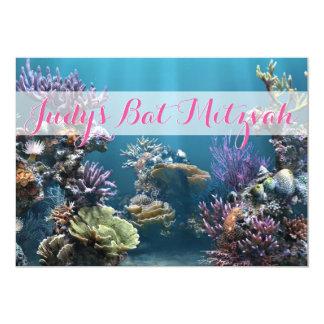 Unterwasserschläger Mitzvah Einladung