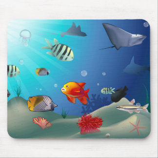 Unterwasserszene Mousepad