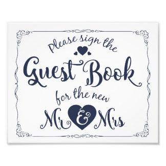 Unterzeichnen Sie bitte unser Gastbuchzeichen Kunstfotos