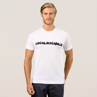 UNÜBERTRAGBARES US-KONSTITUTIONS-FLAGGEN-SHIRT T-Shirt