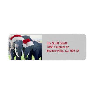 Unvergessliches Elefant-Weihnachten