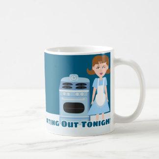 Unverschämte Hausfrau Kaffeetasse