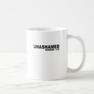 Unverschämte Römer 1 16.png Kaffeetasse