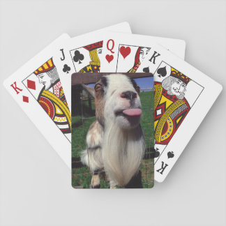 Unverschämte Ziegen-Spielkarten Spielkarten
