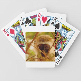 Unverschämter Affe Bicycle Spielkarten