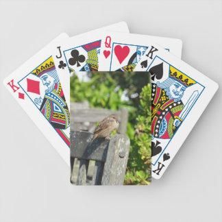 Unverschämter Spatz Bicycle Spielkarten