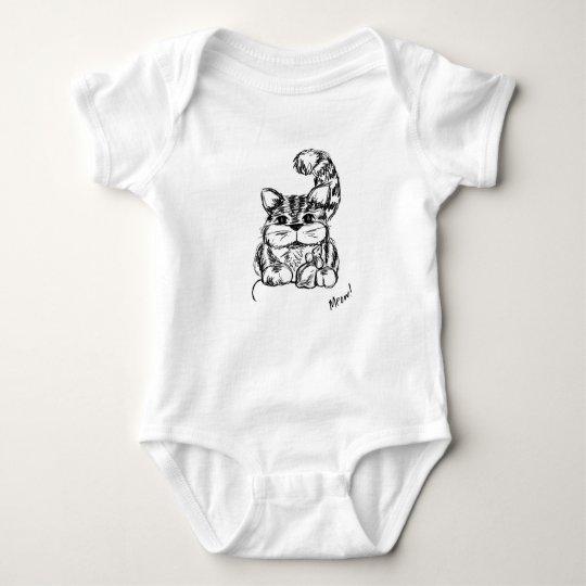 Unwahrscheinliche Freunde Katze und Maus Baby Strampler