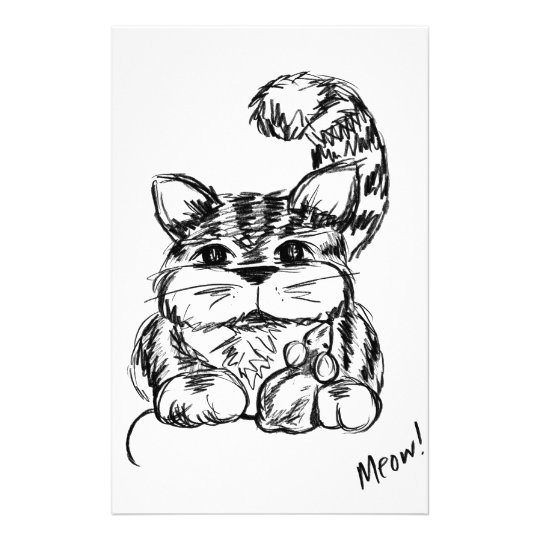 Unwahrscheinliche Freunde Katze und Maus Briefpapier