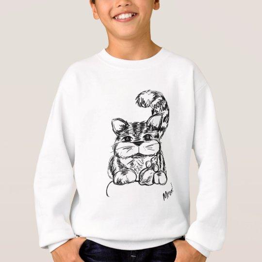 Unwahrscheinliche Freunde Katze und Maus Sweatshirt