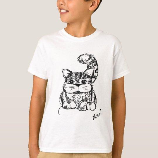 Unwahrscheinliche Freunde Katze und Maus T-Shirt