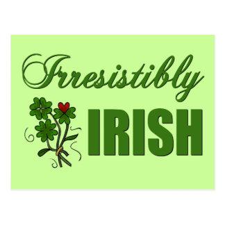 Unwiderstehlich Iren Postkarte