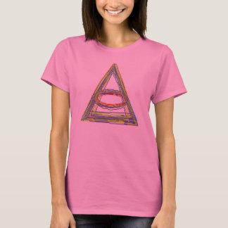 Unwiderstehlich niedliches Modell, das niedliche T-Shirt
