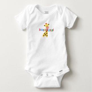 Unwiderstehliche Giraffe Baby Strampler
