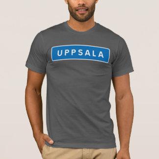 Uppsala, schwedisches Verkehrsschild T-Shirt