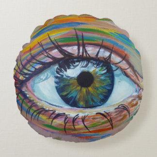 UrbnCape Eye5 rundes Kissen
