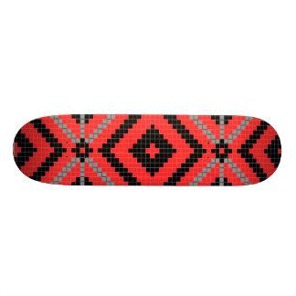 Ureinwohner-Entwurfs-Skateboard 18,1 Cm Old School Skateboard Deck