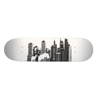Ureinwohner-Entwurfs-Skateboard 18,4 Cm Mini Skateboard Deck